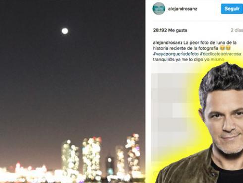 Alejandro Sanz nos dejó una gran lección al compartir 'las peores fotos de la historia'