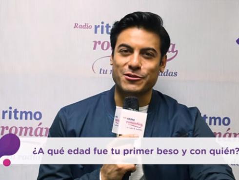 Carlos Rivera se confiesa en el Ping Pong de Ritmo Romántica