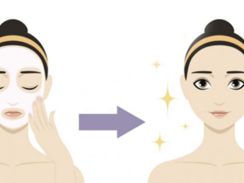 Clara de huevo para las eliminar, atenuar y prevenir arrugas