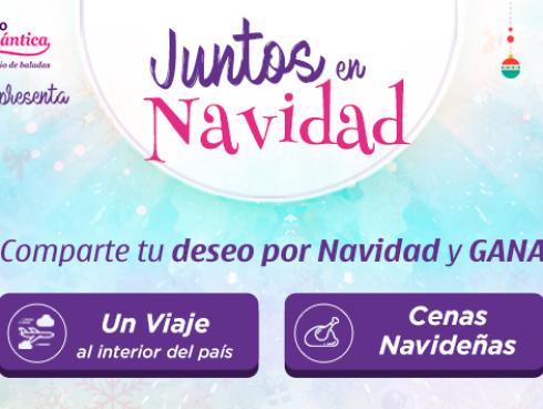 Juntos en Navidad de Ritmo Romántica ¡Gana un boleto aéreo y una de las 5 cenas navideñas!