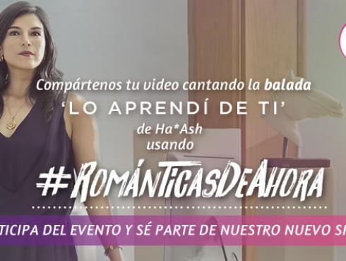 Concurso #Románticasdeahora