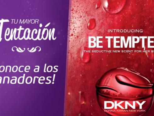 Conoce a las ganadoras de las fragancias Be Tempted DKNY
