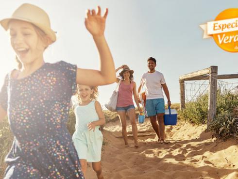 Conoce qué alimentos saludables y prácticos puedes llevar a la playa