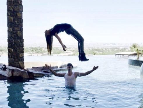 Criss Angel hizo levitar a Belinda
