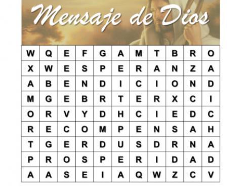 ¡Descubre lo que Dios quiere decirte!