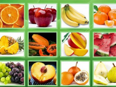 ¡Elige la fruta que más te gusta de la imagen y descubre rasgos de tu personalidad!