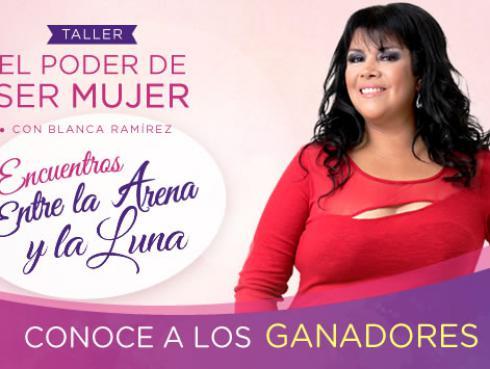 Ganadores de entradas para el taller 'El poder de ser mujer'  con Blanca Ramírez