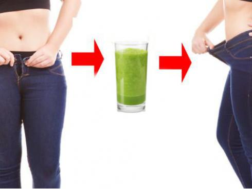 Jugo para bajar de peso y acabar con la grasa abdominal