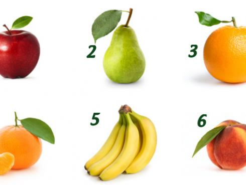 La fruta que más te gusta revela tu personalidad