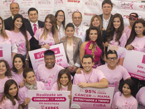 """Liga Contra el Cáncer lanza campaña  """"PONTE ROSA"""" para prevenir el cáncer de mama"""