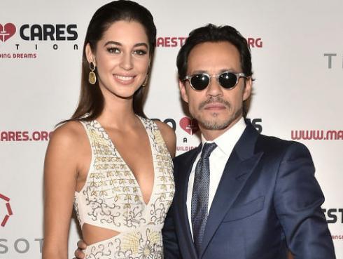 Marc Anthony presentó a su novia de 21 años: Mariana Downing