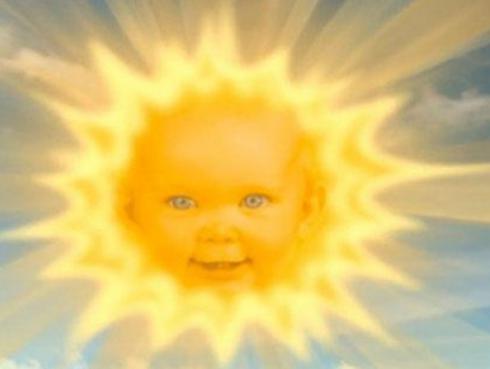 Mira cómo luce el sol de los 'Teletubbies' 20 años después