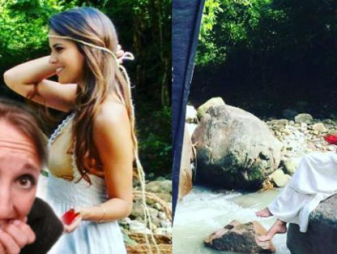 ¡Mira lo que le pasó a la 'Miss Perú Universo', Valeria Piazza!