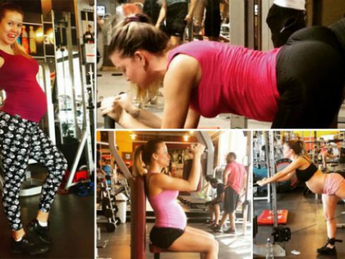 Estando embarazada puedes hacer ejercicios. Mira aquí cuáles