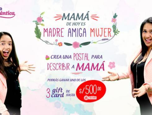 ¡Participa de 'Mamá de hoy es 'Madre, Amiga Mujer'' y gana!