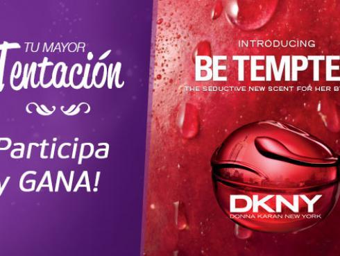 Participa y gana una de las 8 fragancias Be Tempted DKNY que tenemos para ti