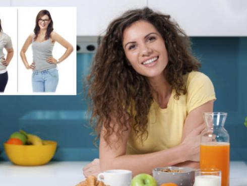 Podrás bajar de peso con desayunos ricos en proteínas