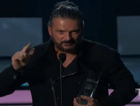 Ricardo Arjona recibe el premio 'Trayectoria' en los Billboard 2017