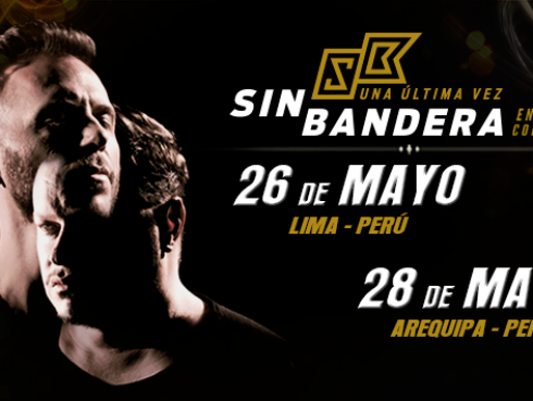 Ritmo Romántica te lleva al concierto de Sin Bandera en Arequipa (Ganadores)