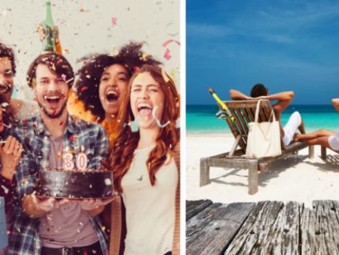 Si te dan a elegir entre una fiesta de cumpleaños a lo grande o un viaje todo pagado, ¿qué prefieres?