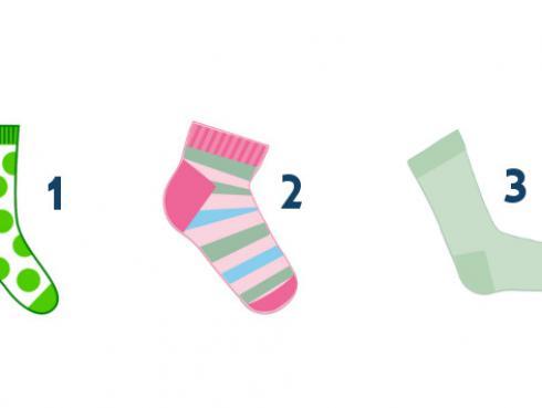 Test de los calcetines