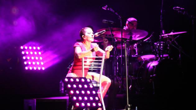 Alejandra Guzmán enamoró Lima con espectacular concierto