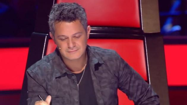 Alejandro Sanz eliminó a participante de 'La voz', pero después le hizo este gran ofrecimiento