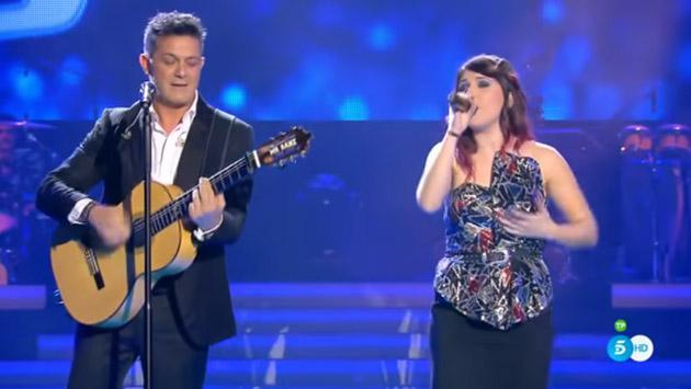 Alejandro Sanz engalanó la final de 'La voz' cantando 'Deja que te bese' [VIDEO]