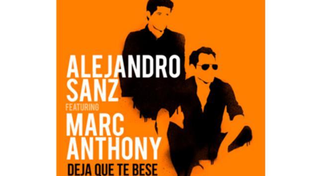 Alejandro Sanz presenta su nuevo sencillo 'Deja que te bese', interpretada junto a Marc Anthony