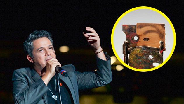 Alejandro Sanz vendió una silla por más de 3 mil dólares. ¿Sabes por qué?