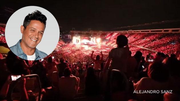 Alejandro Sanz y su público son una voz con la canción 'Y si fuera ella' [VIDEO]