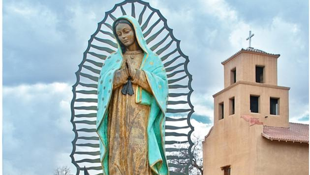 Aseguran que imagen de la Virgen de Guadalupe se presentó en hostia consagrada