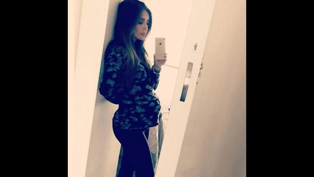 Así es como Anahí de RBD vive la etapa final de su embarazo [FOTOS]