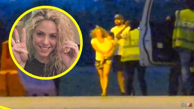 Así fue la llegada de Shakira y Gerard Piqué a Colombia [VIDEO]
