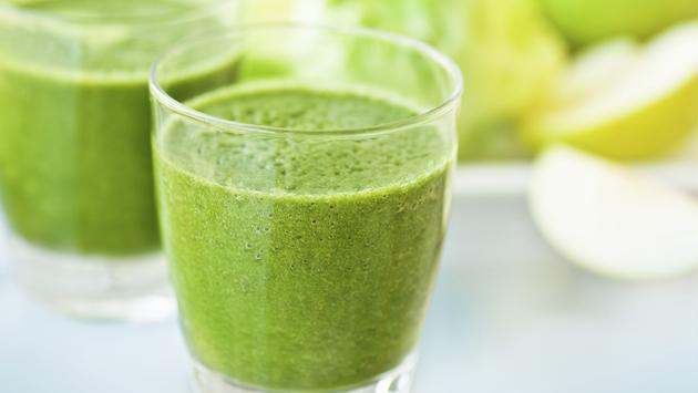 ¡Baja de peso con este jugo verde!