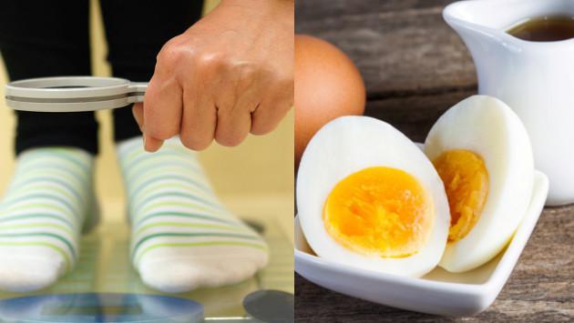 Baja de peso en 7 días con la dieta del huevo