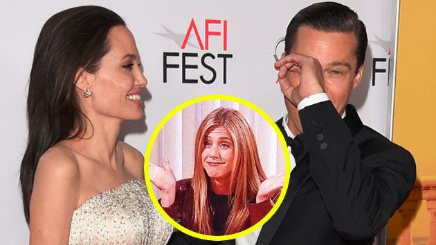 Brad Pitt y Angelina Jolie se divorcian, y Jennifer Aniston aparece... en memes