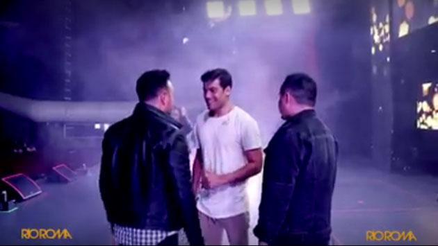 Carlos Rivera fue el ingrediente especial en concierto de Río Roma