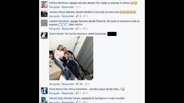 Él daba 'like' en Facebook a chicas sexys y su esposa lo castigó así