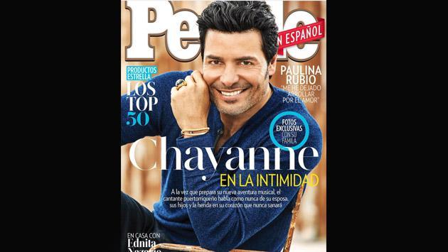 Chayanne, en la portada de People en Español para hablar de su faceta como papá [VIDEO]