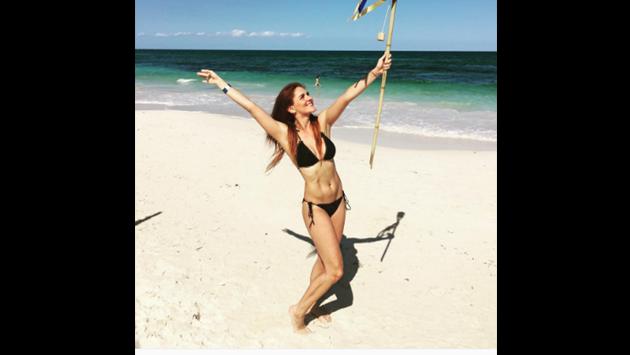 Actriz de 'Rebelde' reaparece luciendo bikini y espectacular figura [FOTOS]