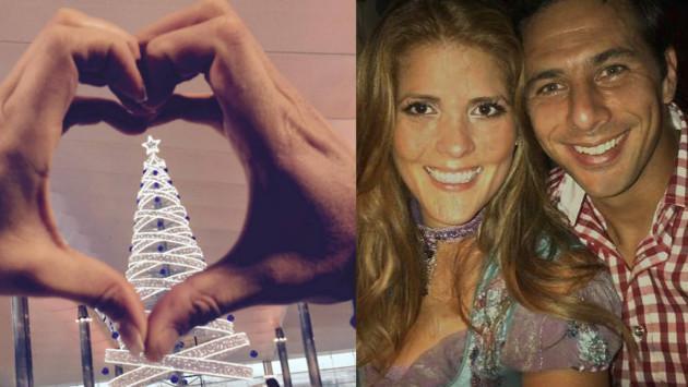 Claudio Pizarro y Karla Salcedo, una historia de amor que perdura en el tiempo