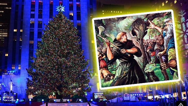 ¿Cómo así surgió la tradición del árbol de Navidad?
