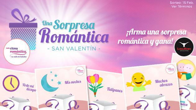 Conoce a los ganadores del concurso de San Valentín: Una Sorpresa Romántica