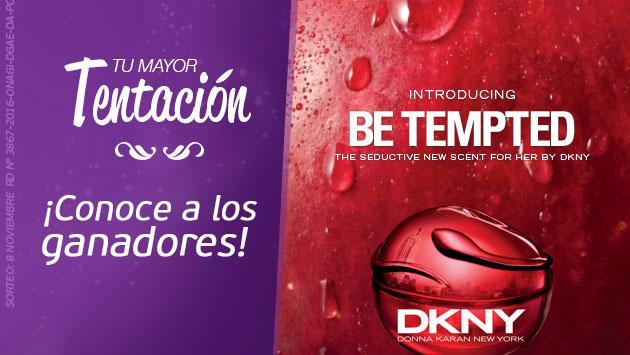 Conoce a las ganadoras de las fragancias Be Tempted DKNY