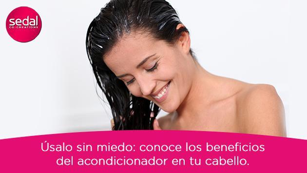 Conoce los beneficios del acondicionador en tu cabello ¡úsalo sin miedo!