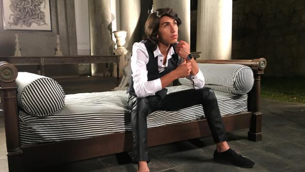 Daniel Lazo mostró un adelanto de su nuevo videoclip '16'