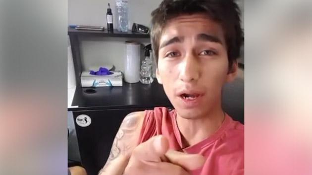 Daniel Lazo y su nuevo tatuaje en honor a la música [VIDEO]