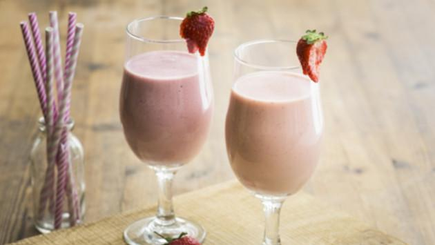 Deliciosa crema de fresas