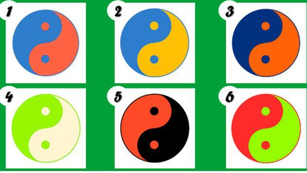 ¡Dime el color del yin y yang qué te gusta y te diré quién eres!